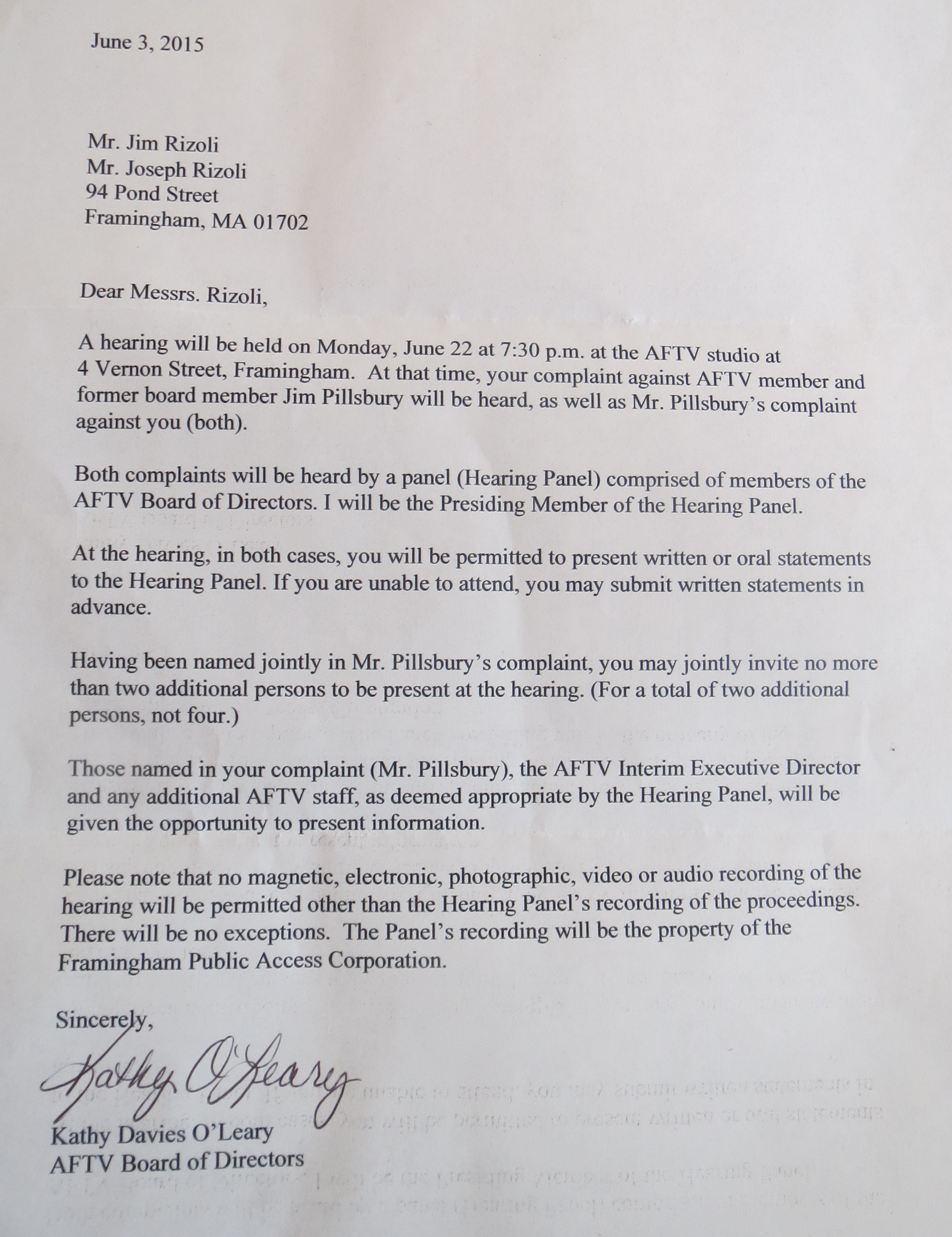 More bully tactics from af tv httpabetterframingham images aftv rizoli letter 20150603 g spiritdancerdesigns Gallery